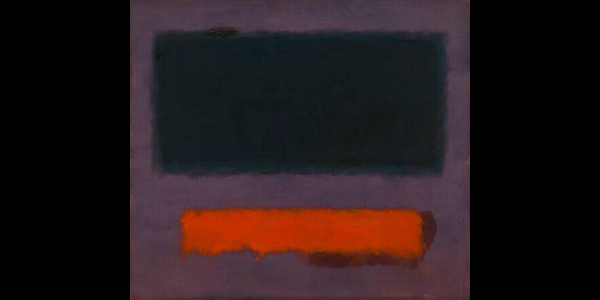 Rothko – Grey, Orange on Maroon 60/8
