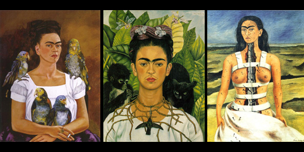 Kahlo-paintings
