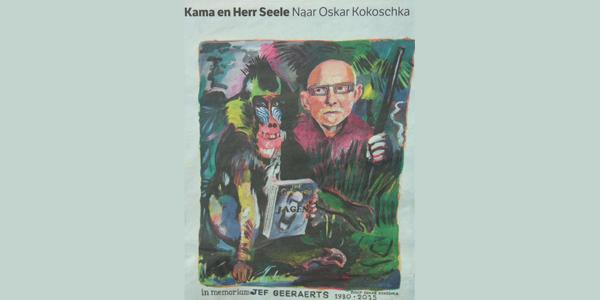 Jef Geeraerts, de mandril van Kokoschka en Hannema's Boymans