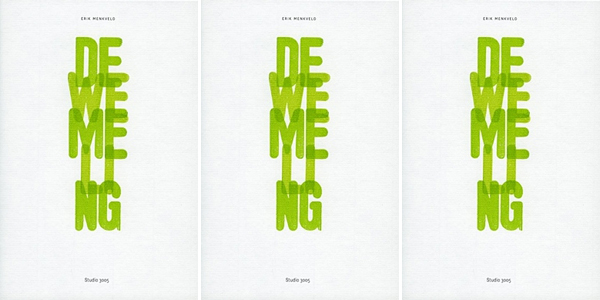 Poetry 2015: 'De wemeling' – Erik Menkveld