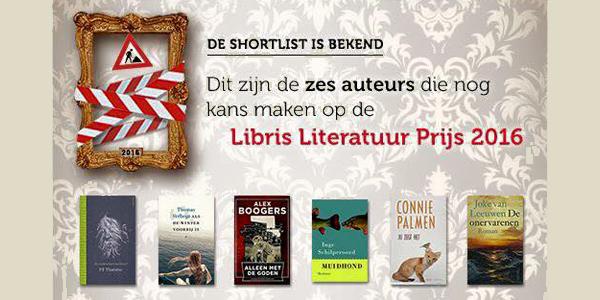'Alleen met de goden' van Alex Boogers genomineerd voor Libris Literatuur Prijs 2016