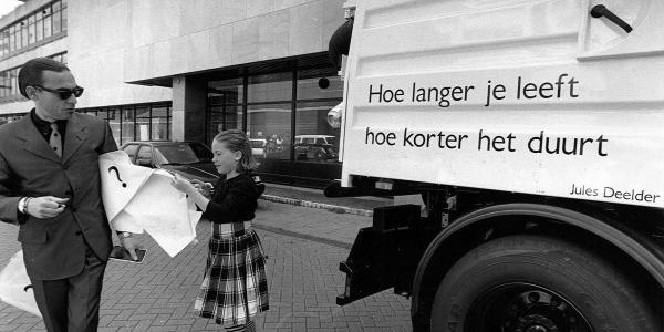 Win jouw dichtregel op een Rotterdamse vuilniswagen