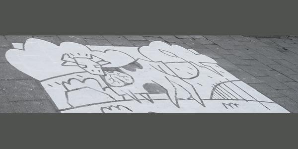Poetry 2016: Weggewassen tekening