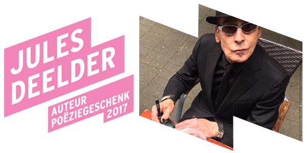 Jules Deelder schrijft Poëziegeschenk 2017