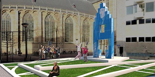 550ste geboortedag van Erasmus (1466-1536)