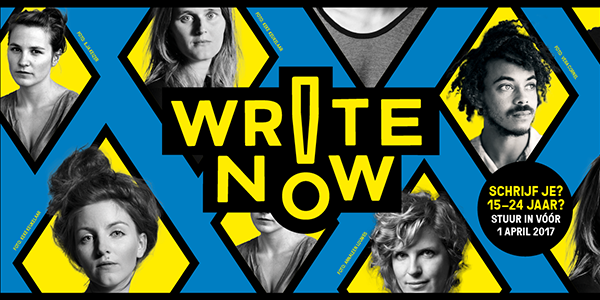 Write Now! 2017 van start