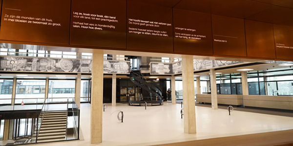 Renovatie Universiteitsbibliotheek en Rotterdamsch Leeskabinet voltooid