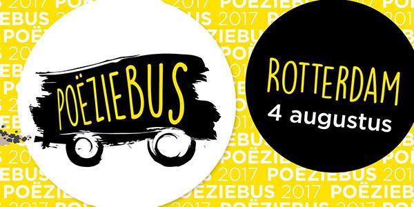 Bus vol poëzietalent toert langs tien steden in België en Nederland