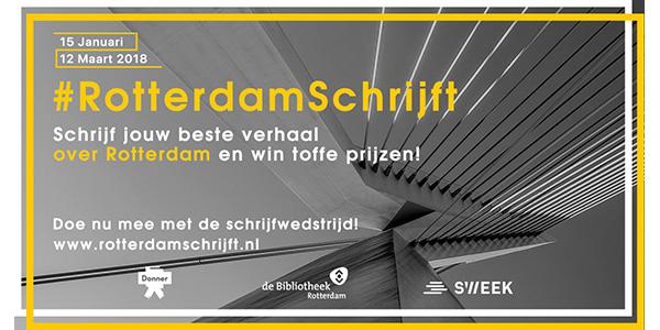 Bibliotheek Rotterdam, Sweek en Donner zijn op zoek naar het beste verhaal van Rotterdam