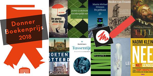 Donner-Boekenprijs-2018-genomineerden