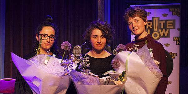 21-jarige Emma van Hooff wint Write Now! Rotterdam