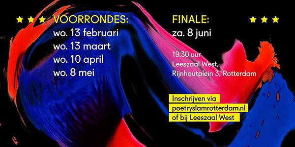 Poetry Slam Rotterdam terug van weggeweest