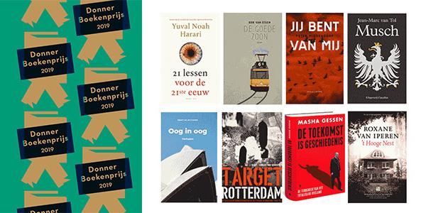 Stemming Donner Boekenprijs 2019 geopend