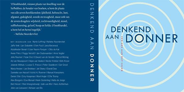 Boekhandel Donner viert opening nieuwe winkel met boekuitgave
