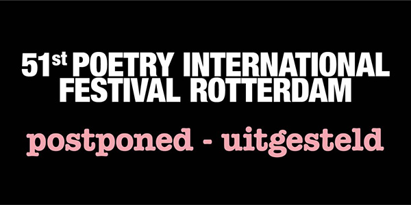 Poetry International stelt 51ste festival uit