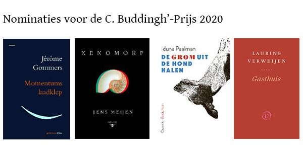 Nominaties voor de C. Buddingh'-prijs 2020 bekend