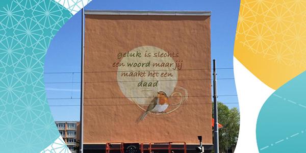 Bewoners Hordijkerveld, IJsselmonde schrijven zelf een gevelgedicht